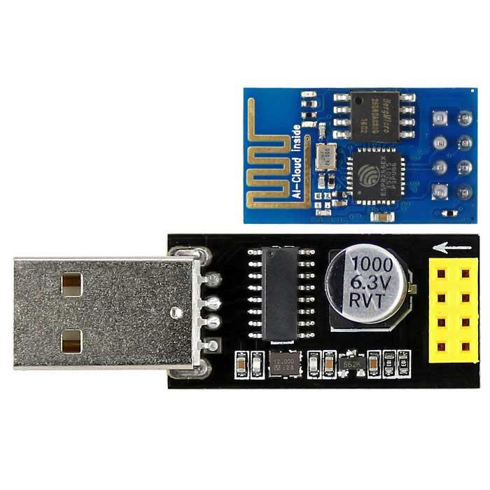 Adapter USB to ESP-01 ESP8266
