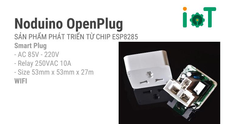 Noduino ESP8285 WiFi Open Plug
