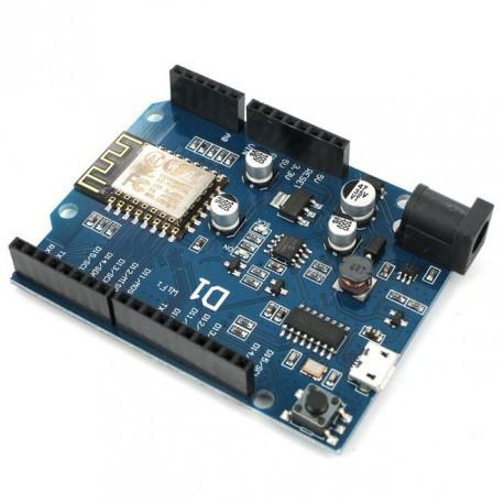 Wemos D1 - ESP8266 Arduino - IoT