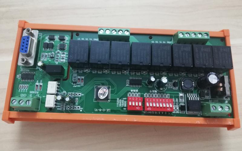 Mạch điều khiển Modbus RTU 8 Relay 12V