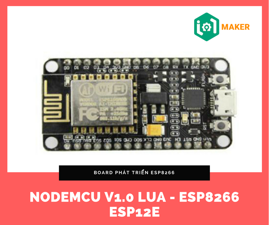 NODEMCU v1 0 Lua - ESP8266 ESP12E