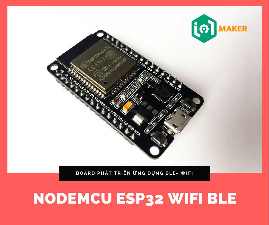 Nodemcu ESP32 Wifi BLE