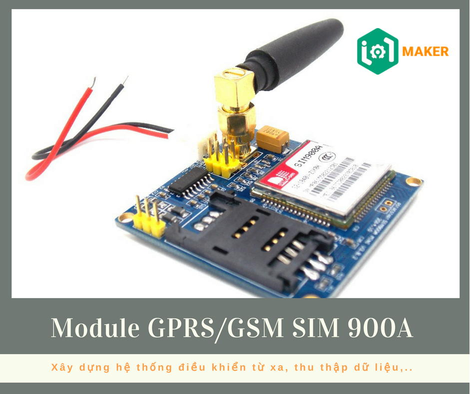 Module GPRS/GSM SIM 900A