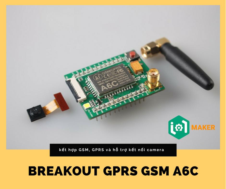 Breakout GPRS GSM A6C